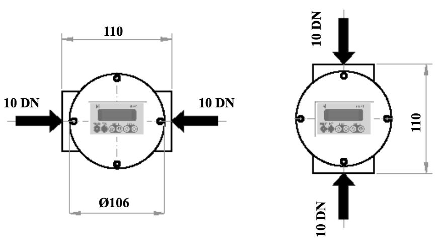 D-EL z zaslonsko povezavo z navojem dimenzije