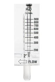 Der Durchflussmesser S-2007